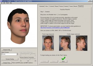 Tutorial FaceGen Modeller 03